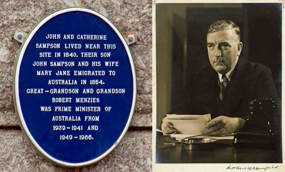 Sir Robert Menzies - a Cornish mining family's illustrious descendant