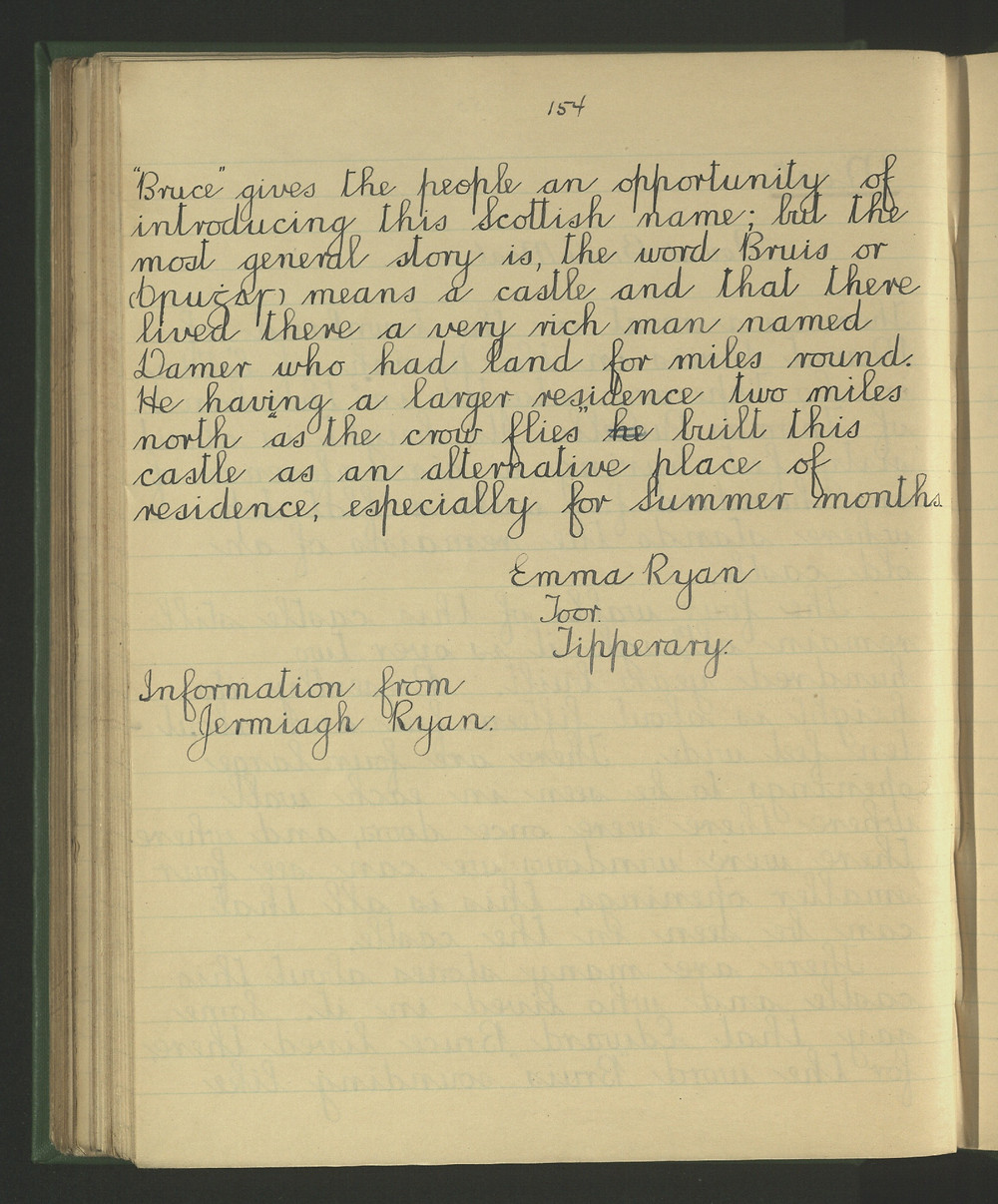 Extract from The Schools Collection at duchas.ie