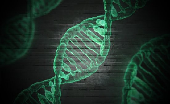 St Patrick's Day DNA graphic