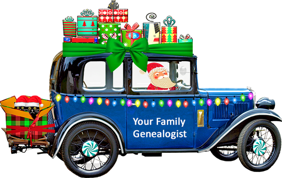 40 gift ideas for the Genealogist in your life : From zero cost to over the top