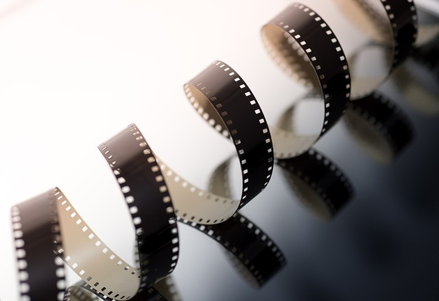 Picture of unwound film - courtesy of www.pixabay.com