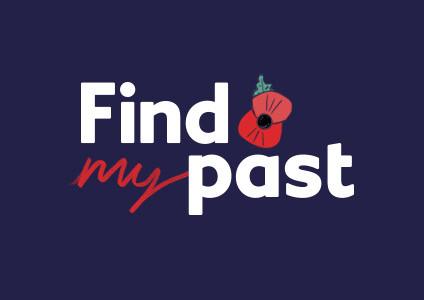 FindMyPast poppy logo courtesy of www.findmypast.com.au