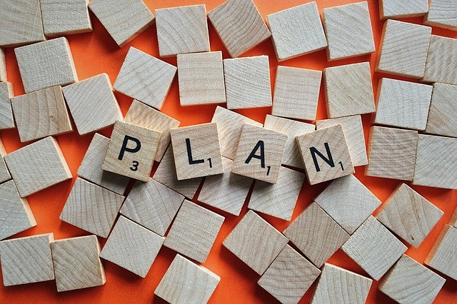 Plan Scrabble tiles picture - from Pixabay.com