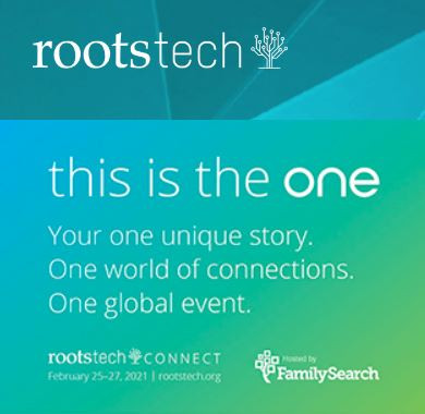 RootsTech 2021 - the detailed Schedule is out