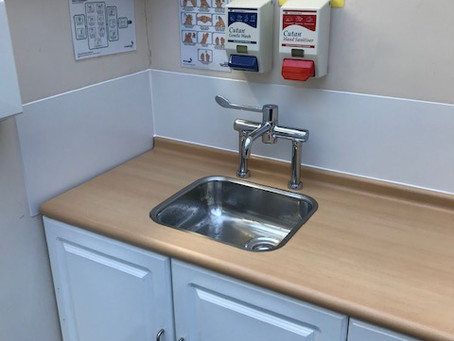 Kingsmead Healthcare Sink and Tap Upgrade
