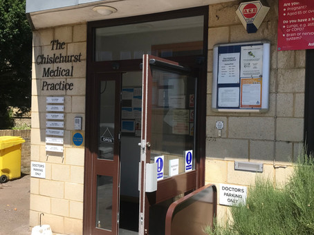 Automated doors for Chislehurst Medical Practice