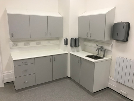 Fit out for the Assisted Fertility Clinic in Canterbury