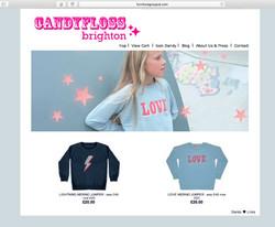 Candyfloss Brighton Website