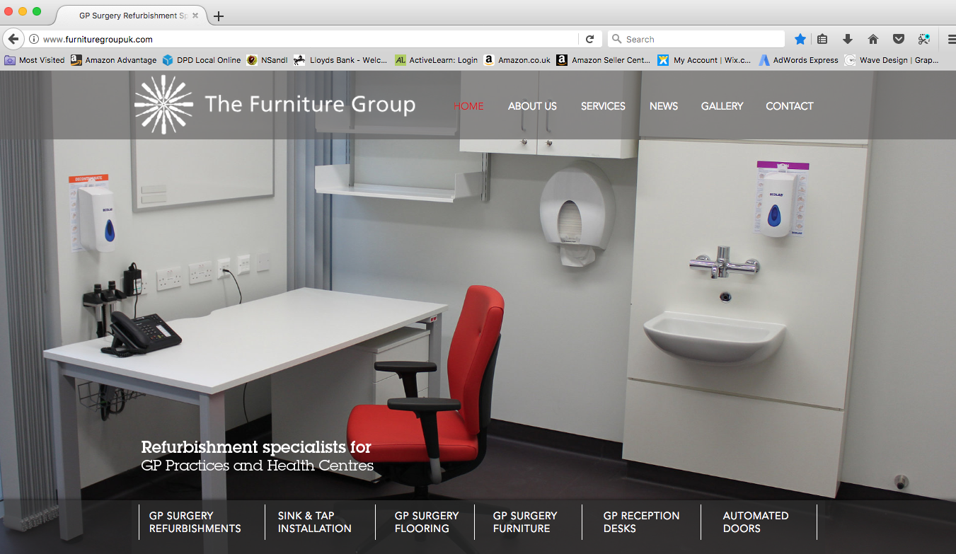 The Furniture Group website