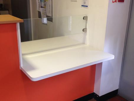 2014: Modified Reception Desk for Lavender Hill GP