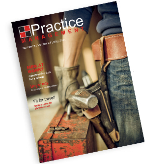 The Furniture Group features in Practice Management Magazine May 2014