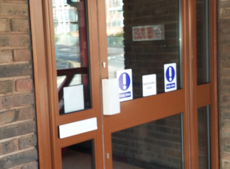 Automatic Doors for Fernville Surgery