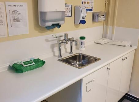 Camberwell Green Surgery Sink Tap and Flooring Refurbishment