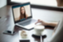 Woman making video call to girlfriend in