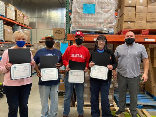 2021 CVSD Community Organization Meritorious Service Award winners