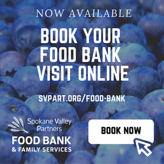 NEW! Book Food Bank Appointments Online