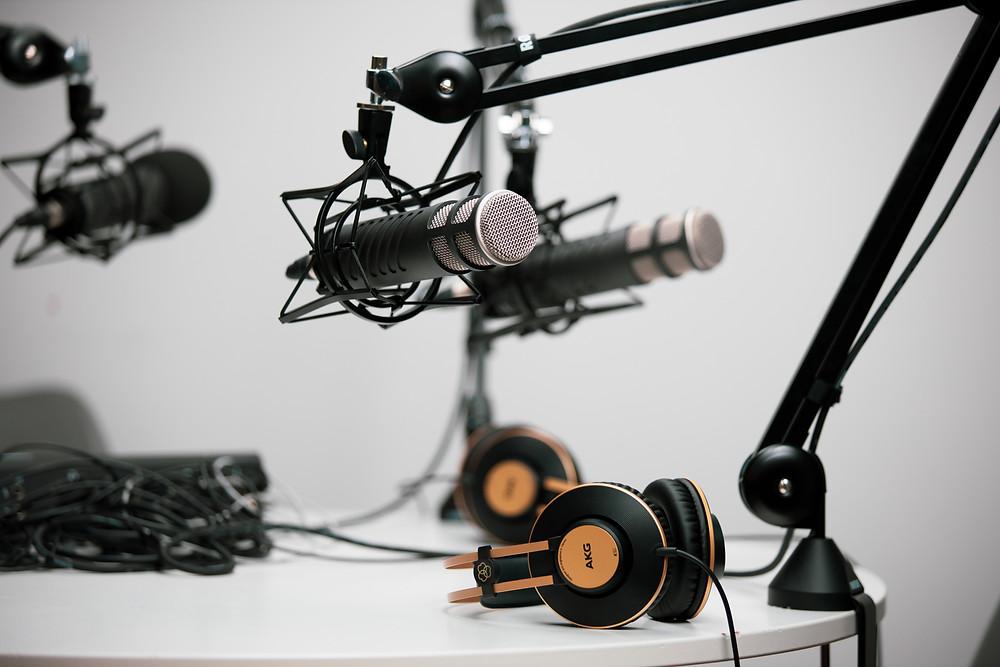 podcast equipment for school marketing