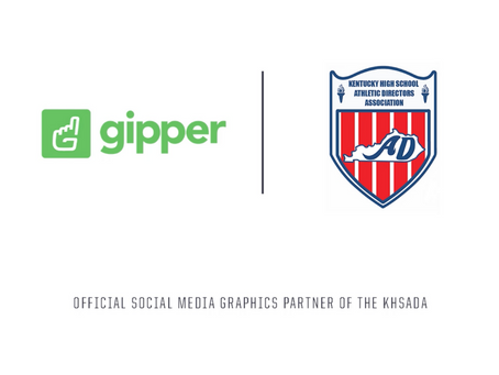 Gipper Signs Partnership to Become the Official Social Media Graphics Solution of the KHSADA
