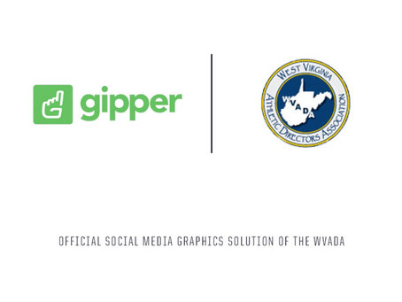 Gipper Signs Partnership to Become the Official Social Media Graphics Solution of the WVADA