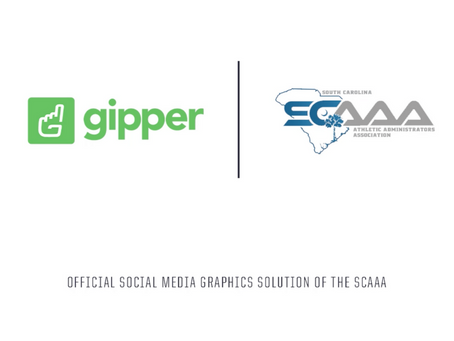 Gipper Signs Partnership to Become the Official Social Media Graphics Solution of the SCAAA