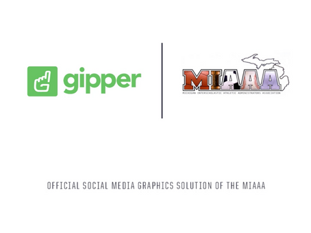 Gipper Signs Partnership to Become the Official Social Media Graphics Solution of the MIAAA