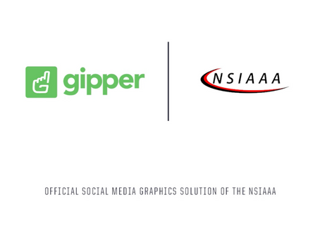Gipper Signs Partnership to Become the Official Social Media Graphics Solution of the NSIAAA