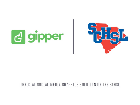 Gipper Signs Partnership to Become the Official Social Media Graphics Solution of the SCHSL