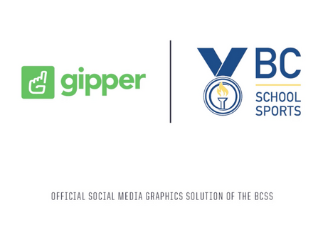 Gipper Signs Partnership to Become the Official Social Media Graphics Solution of the BCSS