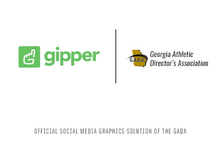 Gipper Signs Partnership to Become the Official Social Media Graphics Solution of the GADA
