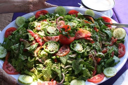 Salad for the buffet