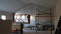 inside the new addition