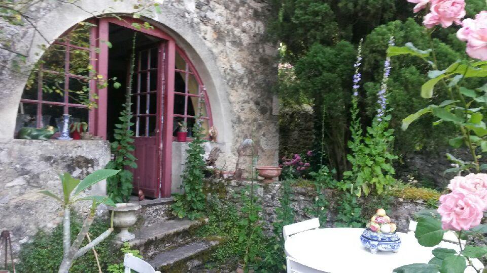 Terrasse du petit dejeuner