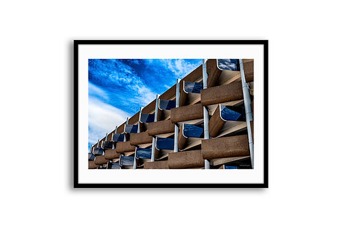 "ARCHITECTURE ""Apartment building, Hanover"" 100x150 - SKU99003"