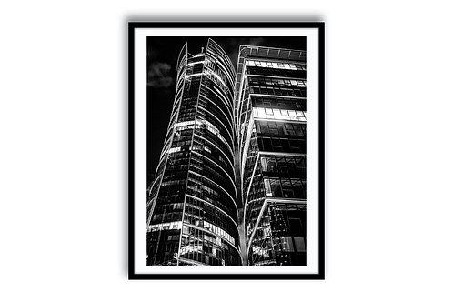 """ARCHITECTURE """"Warsaw Spire"""" 50x75 - SKU119001"""