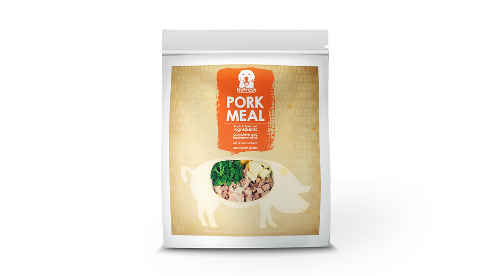 [Cooked] Fresh Diet - Pork Meal 200g