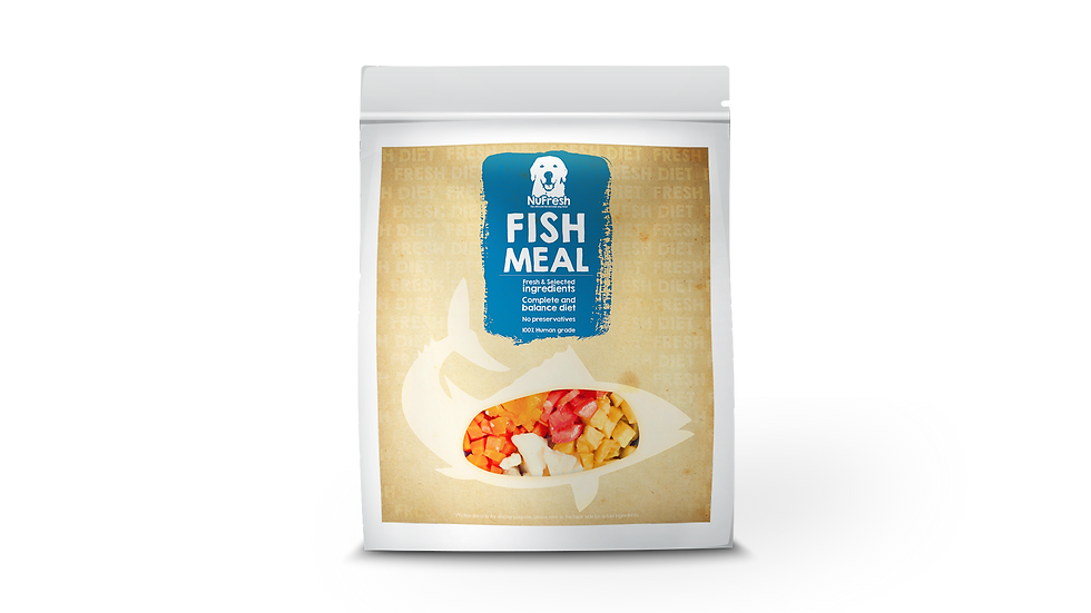 [Cooked] Fresh Diet - Fish Meal 200g