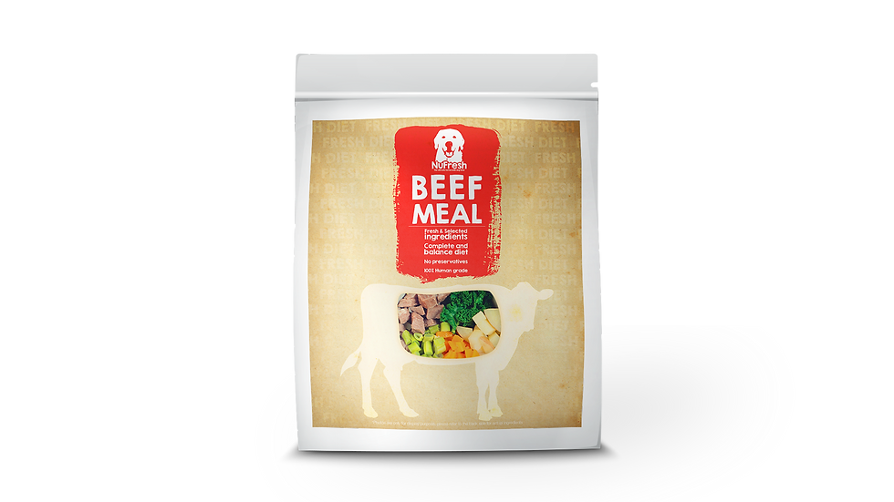 [Cooked] Fresh Diet - Beef Meal 200g