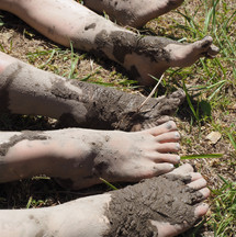 田植え・泥が楽しい