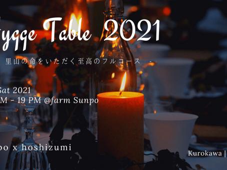 Hygge Table 2021