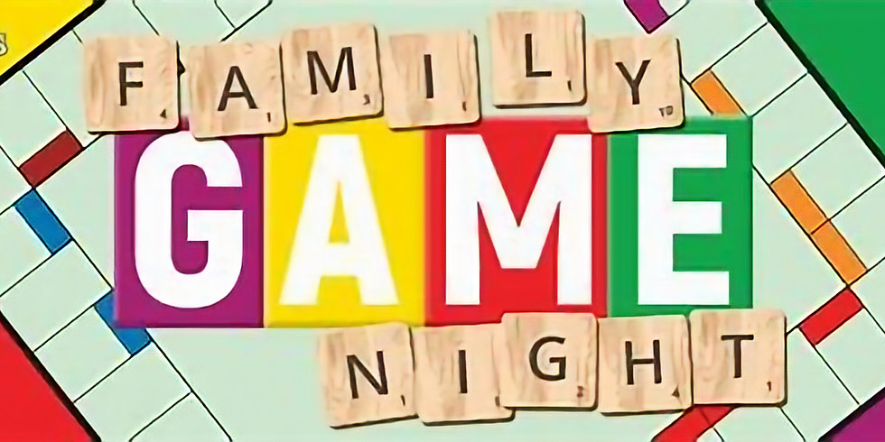 All Church Family Game Night