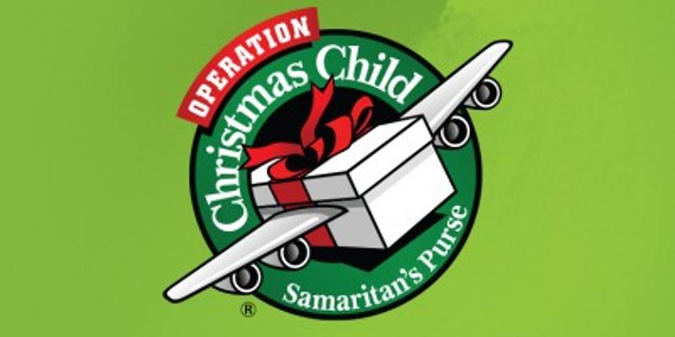 Samaritan's Purse - Operation Christmas Child Packing Party