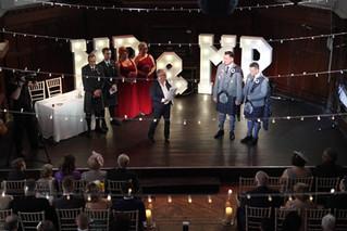 A musical theatre extravaganza wedding