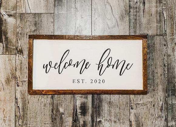 Custom Farmhouse Sign