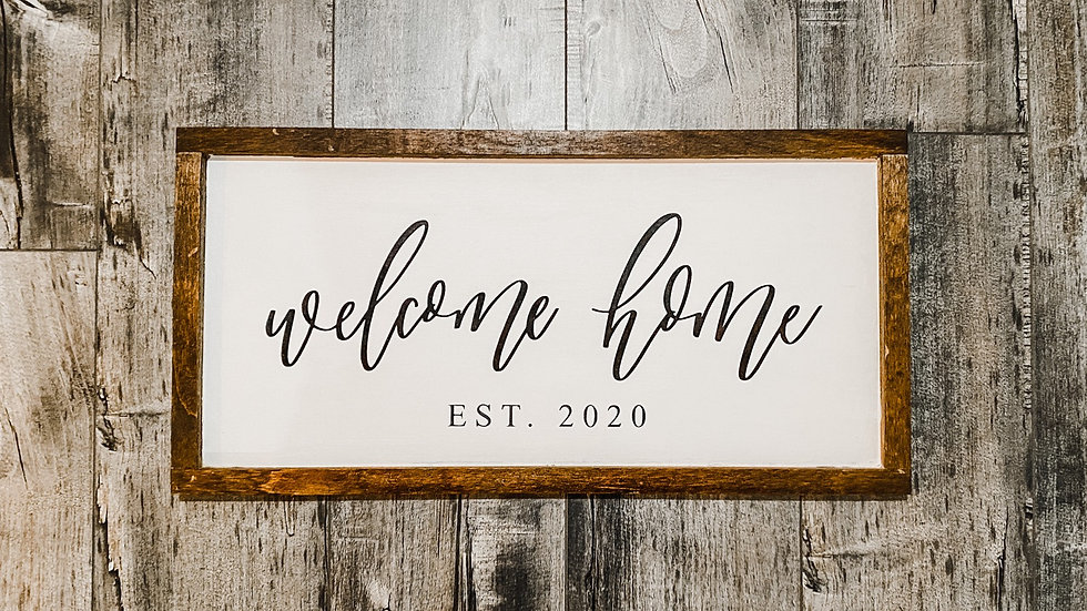 Custom Farmhouse Sign