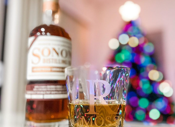 Custom Whiskey Glass & Shot Glass