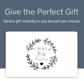 Simply by Diane Gift Cards