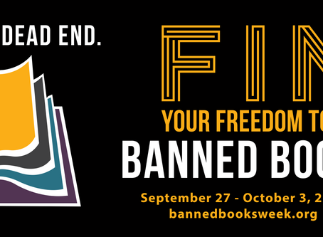Who's ready to read some Banned Books?