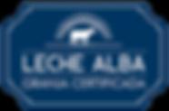 Distintivo Leche ALBA2.png