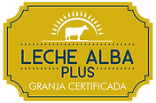 Distintivo Leche ALBA plus.png