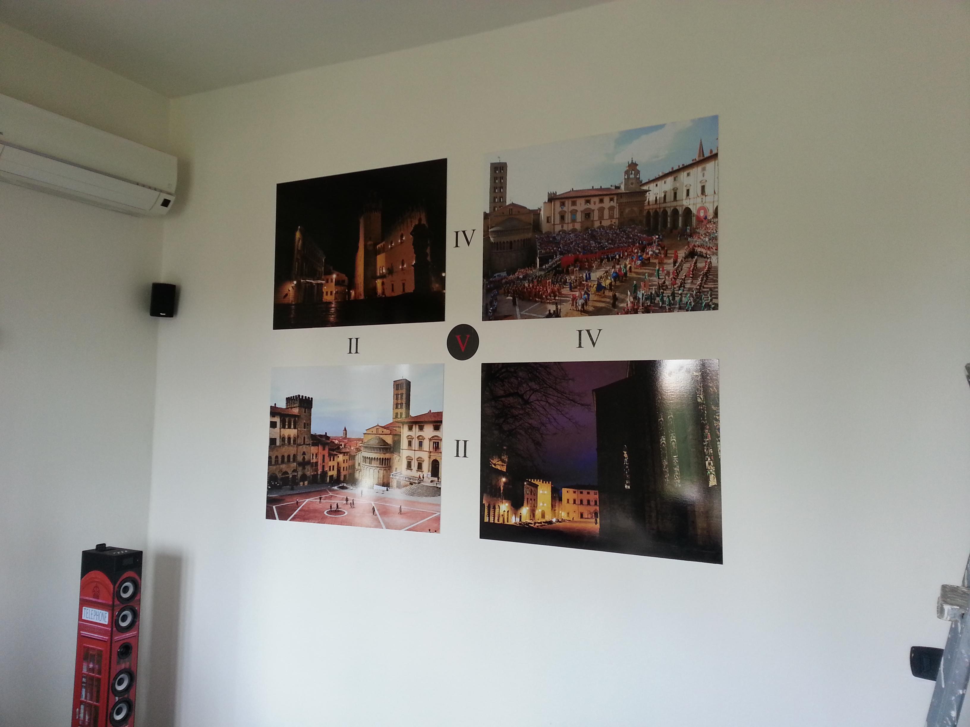 Decorazione parete Salotto